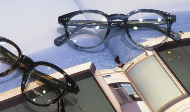 OLIVER PEOPLES 新作ヴィンテージスタイル『Desmon』